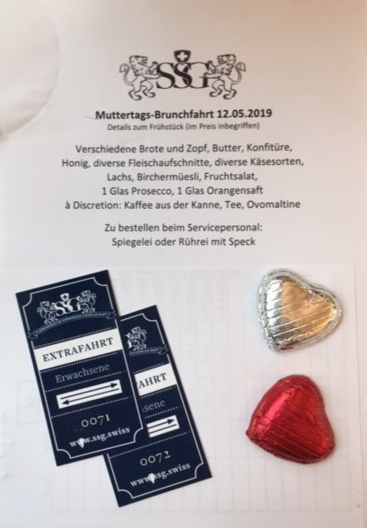 12. Mai 2019, Muttertagsbrunch